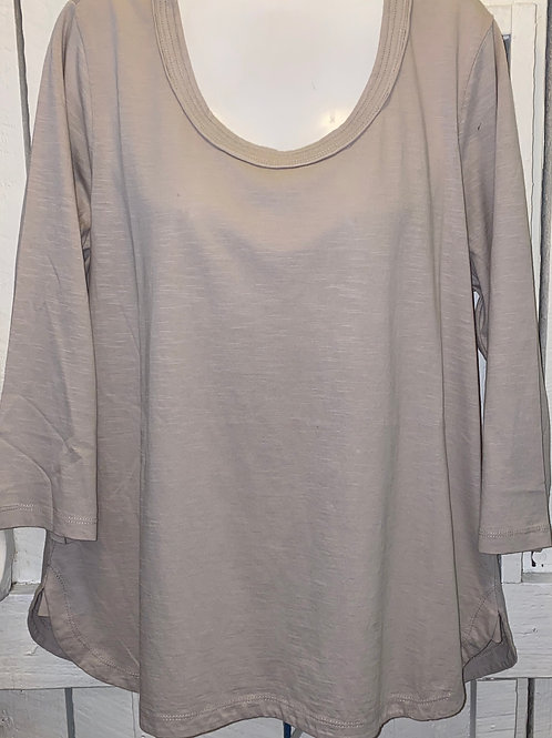 Slub Tunic in Sand