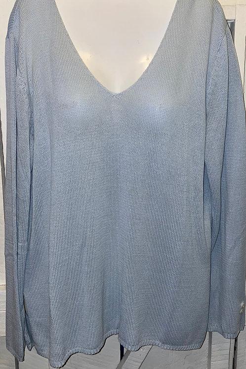 Knit Sweater in Blue