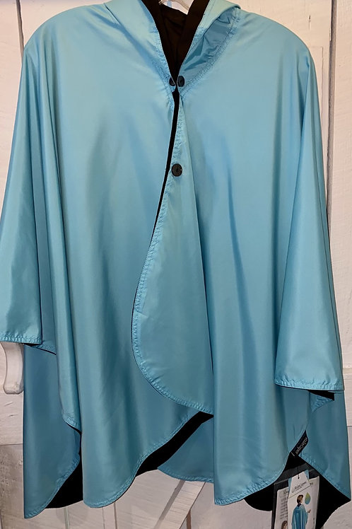 Rain Caper in Sky Blue/Black