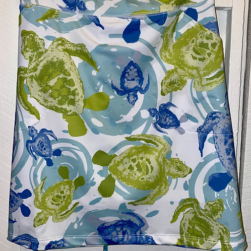 Active Wear Turtle Skirt with Pockets