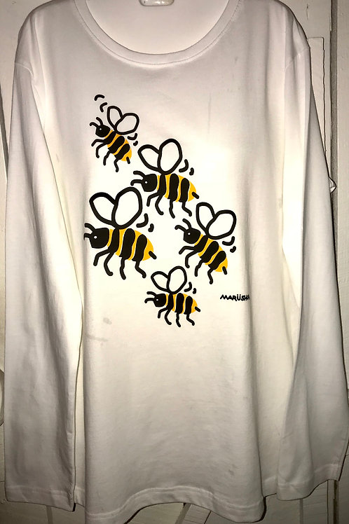 Bumble Bee's in White