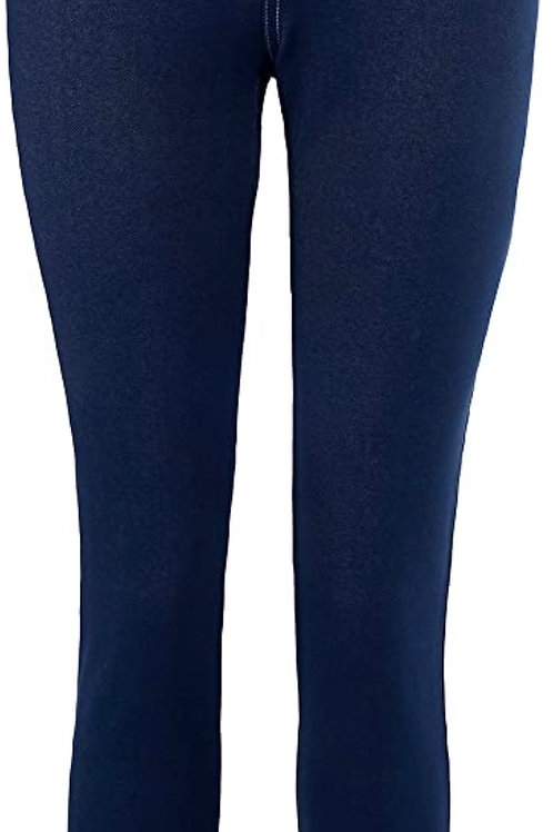 Stretch Denim Pant in Navy