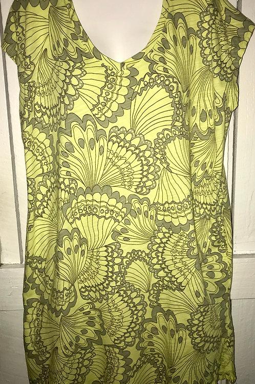 Cotton S/S Beach Comber Dress in Citrus