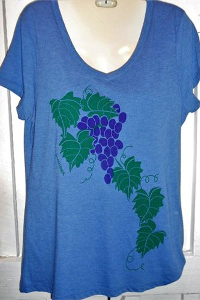 Trio Grapes In Purple