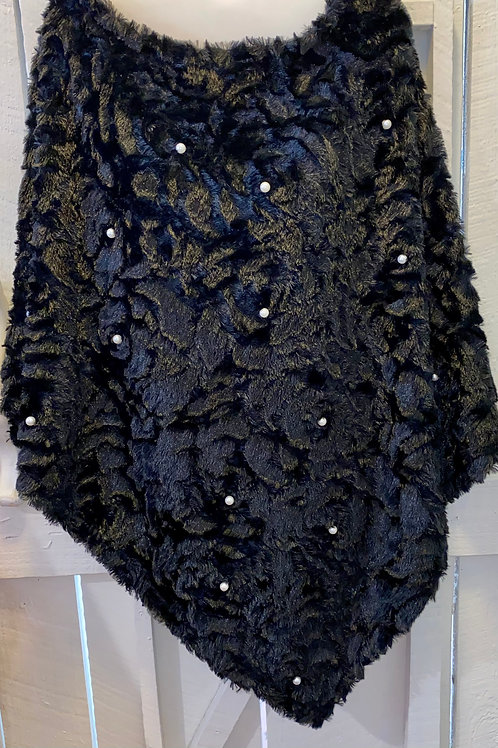Pullover Rose Pearl in Black