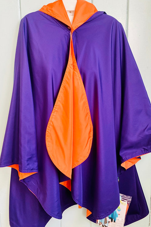 Rain Coat in Clemson Colors