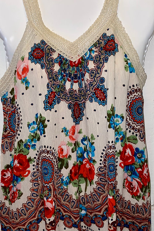 Crochet Tank in Cream