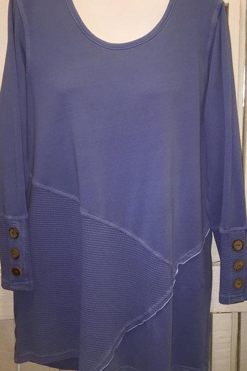 Coconut Sleeve Tunic in Peri