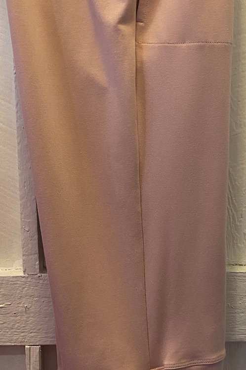 Bamboo Drawstring Capri's in Blush