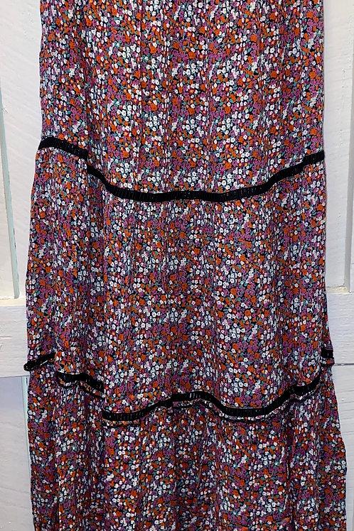 Rose Black Lace Skirt