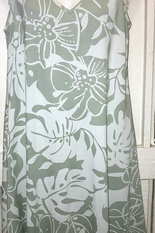 Cotton/Modal Dress Panama in Callow
