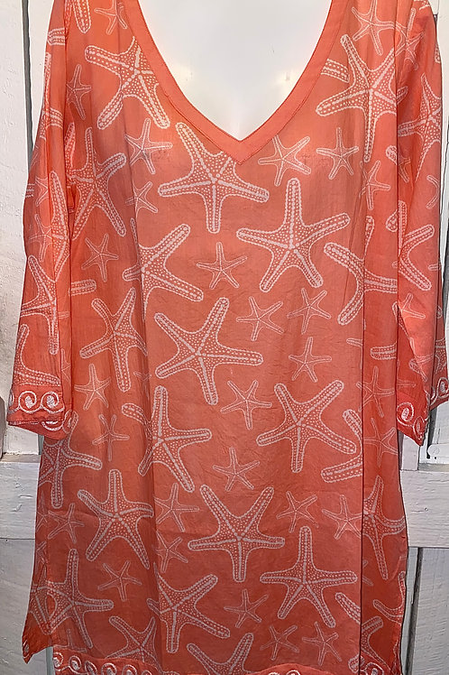 Sea Star Tunic in Blossom