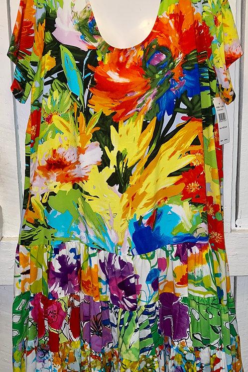 Floral Breeze Ruffle Dress