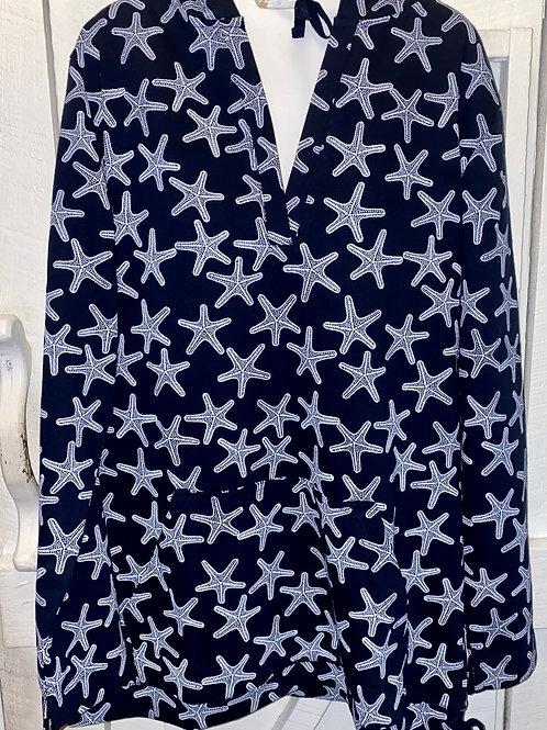 Starfish Hoodie in Navy