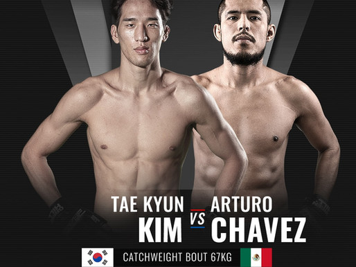 MÉXICO EN BRAVE CF 43: Tae Kyun Kim Vs Arturo Chávez