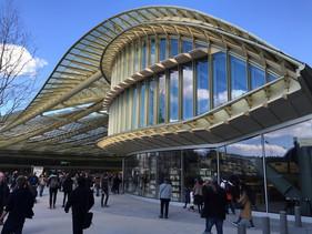 Clair&Net nettoie les vitres de la Canopée des Halles