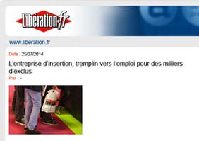 Clair&Net dans le journal Libération