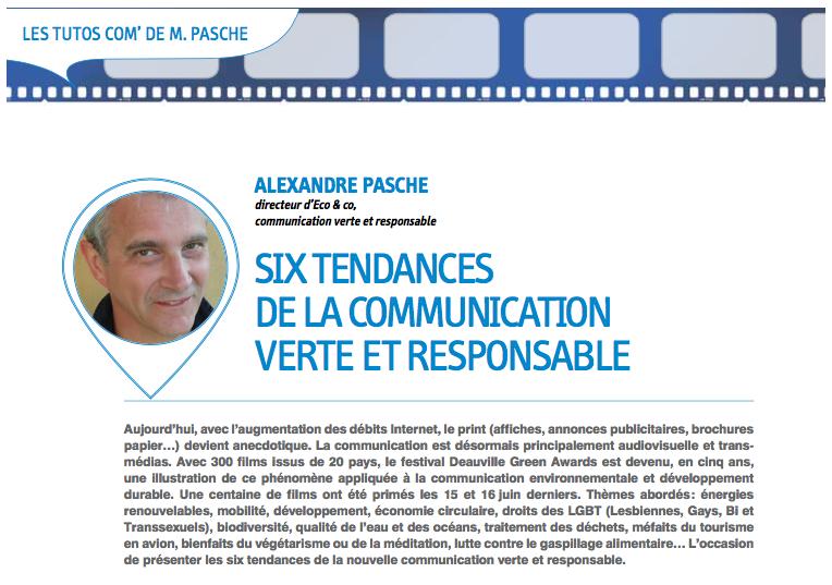 Les 6 tendances de la communication verte et responsable