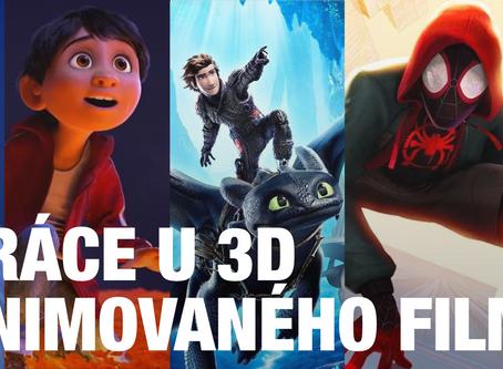 Profese za tvorbou 3D Animovaného filmu