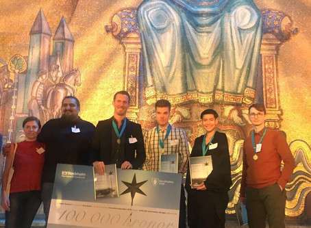 Soundation wins Stockholm Innovation Prize! 11/9 2019