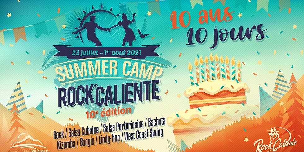 Les 10 ans du SUMMER CAMP
