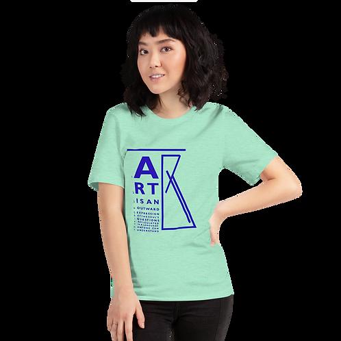 """""""ART is..."""" Short-Sleeve Unisex T-Shirt"""