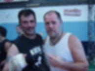 Maestro Andres Esquivel junto a Campeon de Kick Boxing y Muay Thai ROB KAMAN