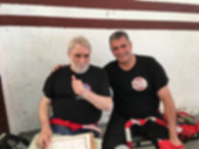 Maestro Andres Esquivel junto al GM Jorge Horacio Doglioli