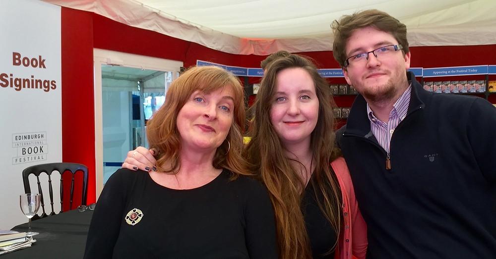 Janice, Lucy, James @ EIBF