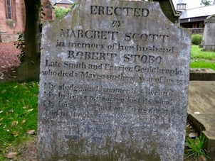 Poems in Bothwell Parish Churchyard