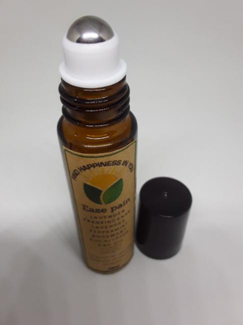 Ease pain | roller bottle | Aromatheraphy