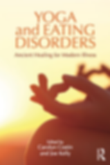Carolyn Costin's book yoga and eating disorders cover