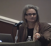 Carolyn Costin speaking