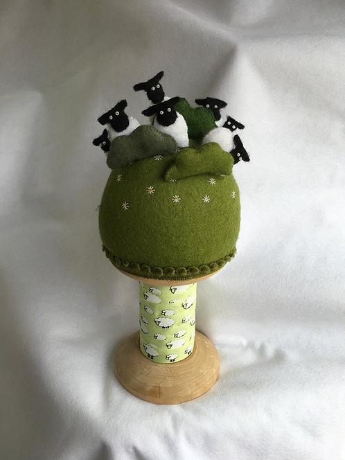 Sheep pincushion kit