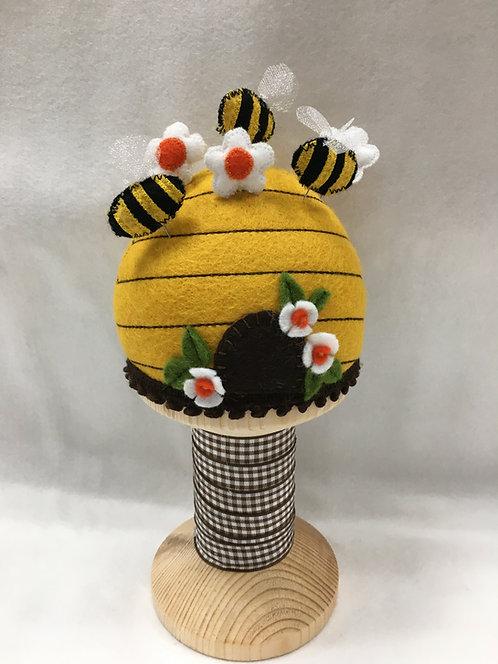 Bee Skep pincushion kit.