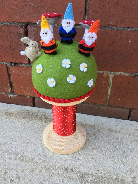 Gnome pincushion kit.