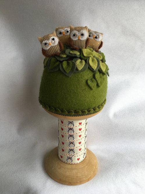Owl pincushion kit