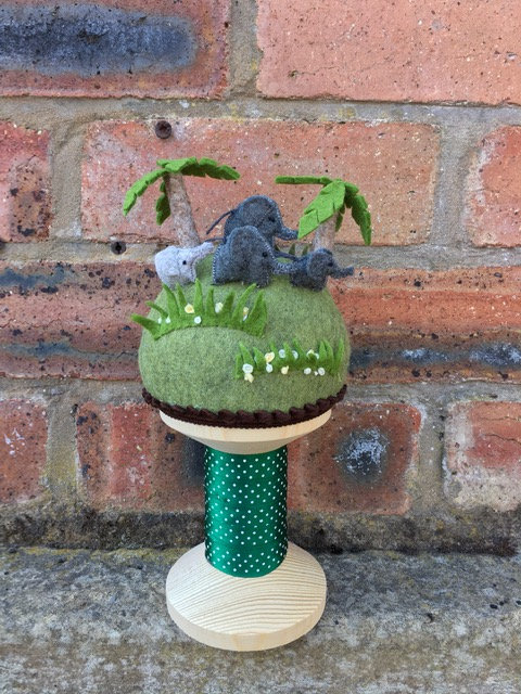 Elephant pincushion kit