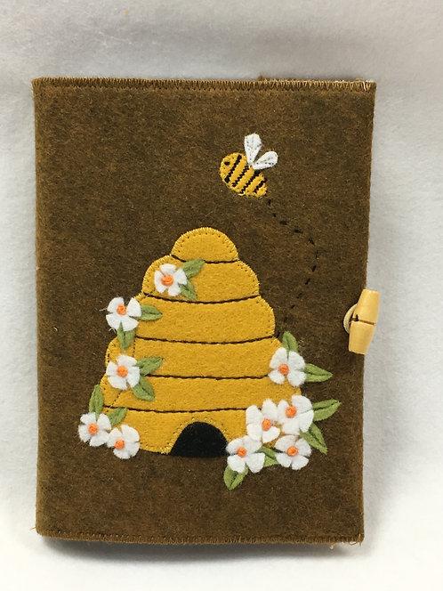 Bee skep notebook kit.