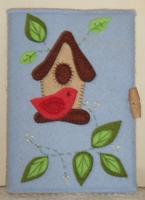 Birdhouse notebook kit