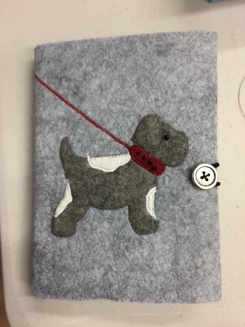 New dog notebook kit.
