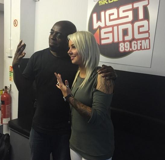 Becki at West Side Radio