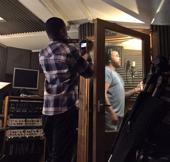 N-Hance in the studio