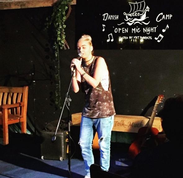 Becki open mic night