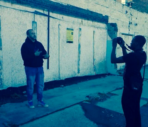 N-Hance video shoot