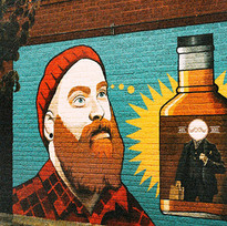 Hipster Whiskey Graffiti