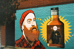 Hipster Whisky Graffiti