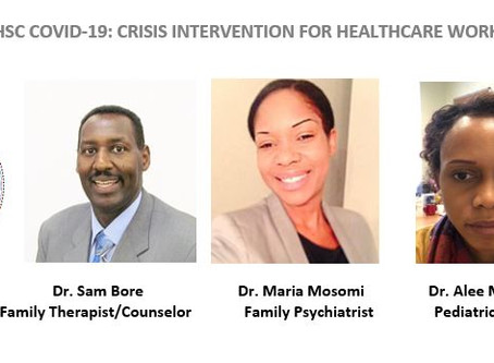 4th QHSC COVID-19: CRISIS INTERVENTION FOR HEALTHCARE WORKERS