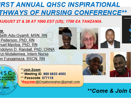 """Join Us for: """"Inspirational Pathways In Nursing Conference"""""""