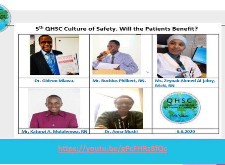 5th QHSC: Culture of Safety: Will the Patient Benefit?